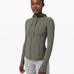 NWT Lululemon Hooded Define Jacket Gray Sage